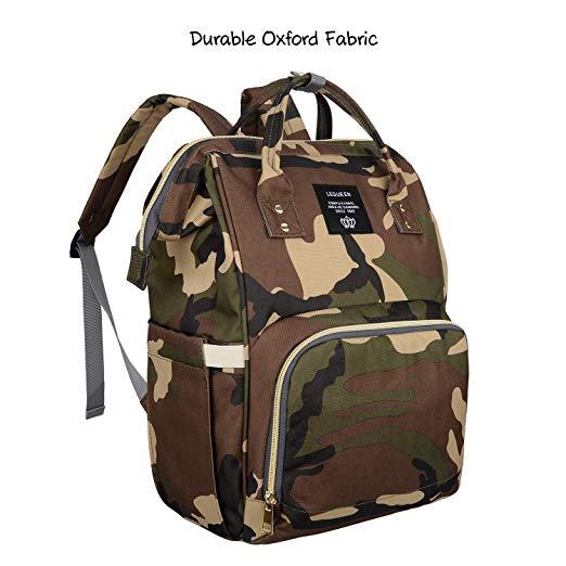Diaper Bag Mens Women Camouflage