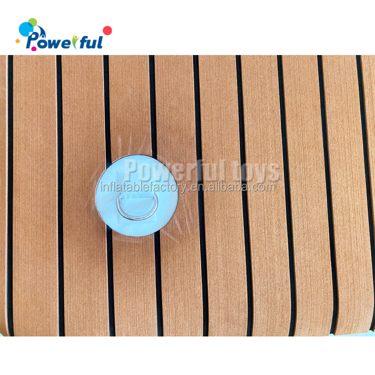 Non-Skid-Surface Inflatable Water Floating Boat Dock Pontoon Yacht Floats Platform