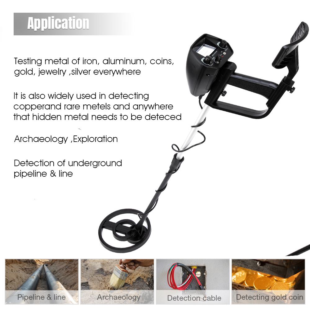Gold Metal Detector MD4030
