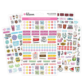 Printing Custom stickers colorful printed Student School Printing Wholesale planner sticker