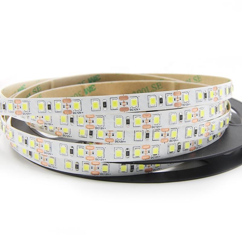 white 2835 led strip light  2 year warranty best price 120LED 12V 2835 led Strip light