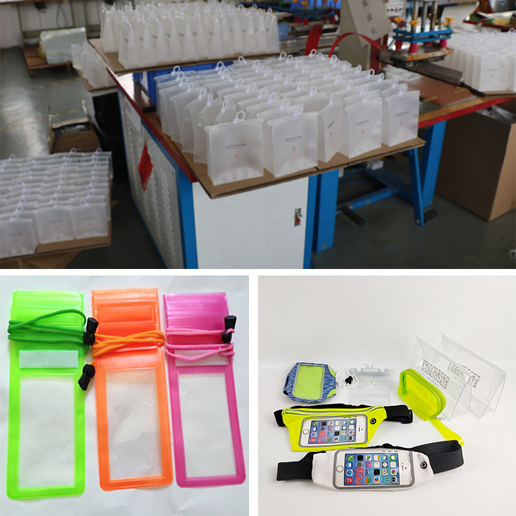 Chinese factory rice packing bag pvc bags with zipper 2019 Made In China Low Price