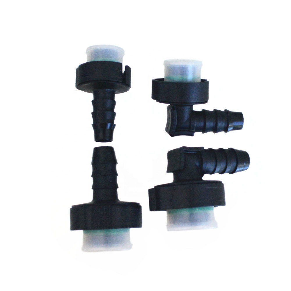 Automotive cooling system water pipe adapter NG fuel Quick disconnect Connector for Auto Water Hose