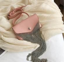 Mihaivin Женская поясная сумка с металлическими кисточками, поясная сумка, роскошная поясная сумка, дизайнерская брендовая поясная сумка в сти...(Китай)