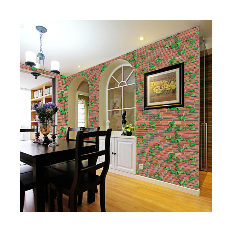 Pvc wall paper tree vine pattern design self adhesive art decorative wall <strong>panels</strong> <strong>3d</strong> wallpaper