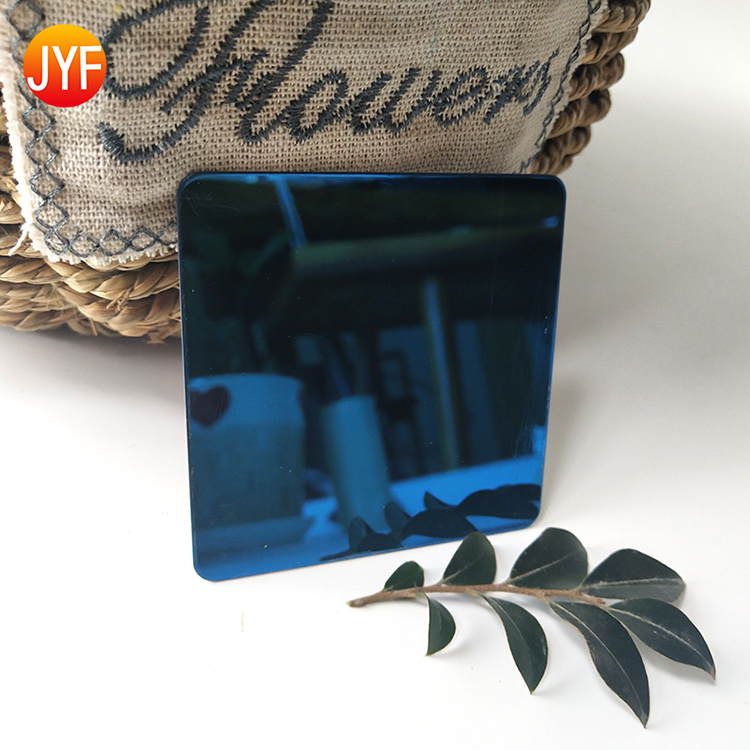 A3150 Factory Wholesale High Quality Mirror Sapphire Blue Stainless Steel Decorative Sheet For Hotel Decoration