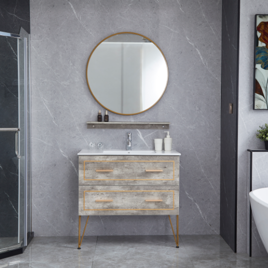 Modern Single Sink Style Bathroom Cabinet Modern Storage