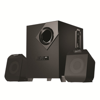 SuperSonic SC-1125 Premium Sound System: Power Personal Home theater Sound Speakers With USB Input
