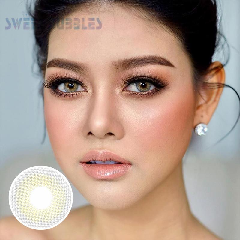 SweetBubbles souple lentilles de contact soloticas naturel Offre Spéciale couleur lentilles de contact