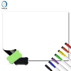 3.9-11 A1 Whiteboard Magnetic Back Magnet White Board Magnetic Dry Erase Board for Fridge