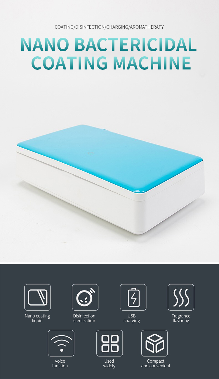 Multi-function disinfection mobile phone uv sterilizer aromatherapy ultraviolet light sterilizer box for Toothbrush Watch