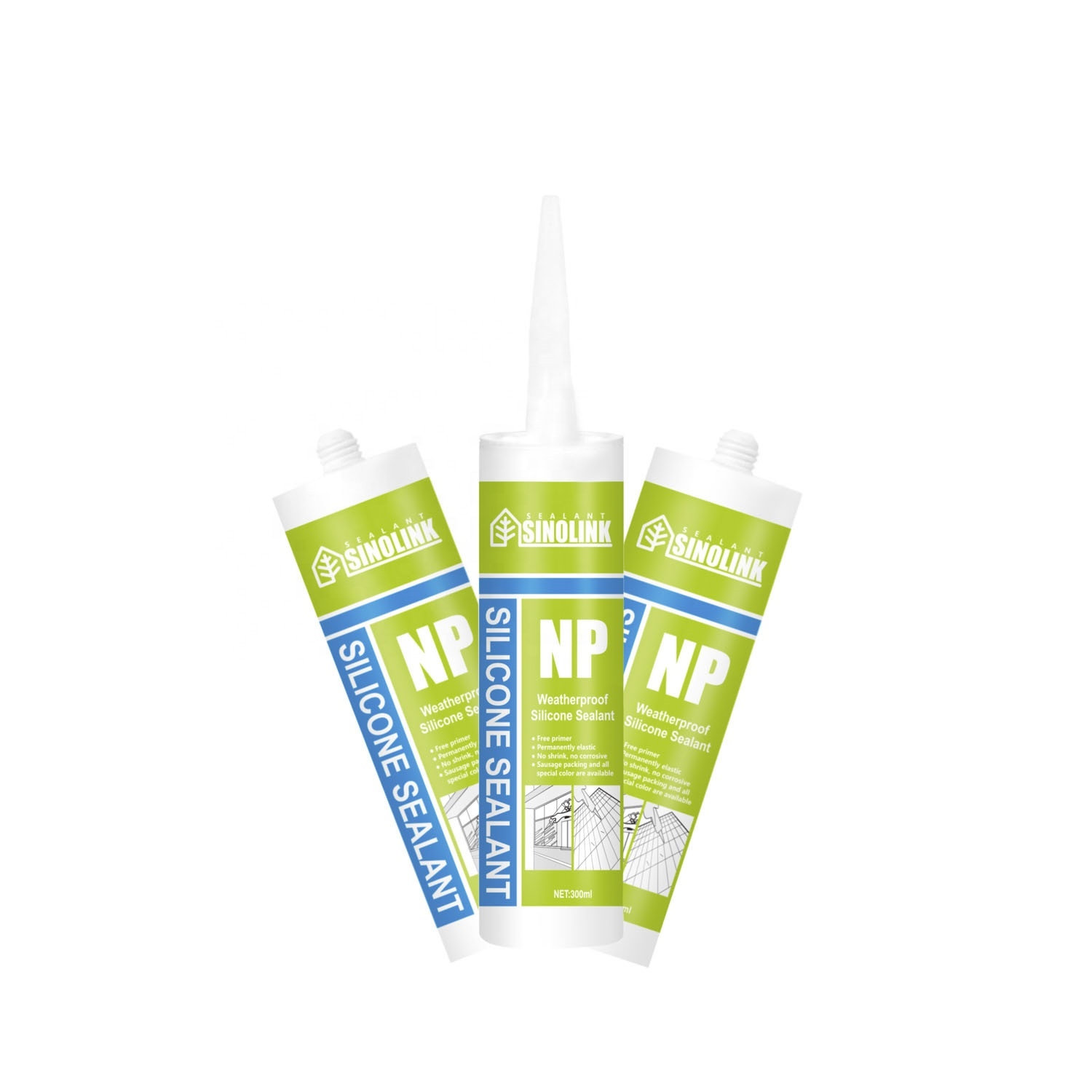 clear Neutral Weather Proof caulk <strong>glass</strong> Silicone <strong>Sealant</strong> for wood