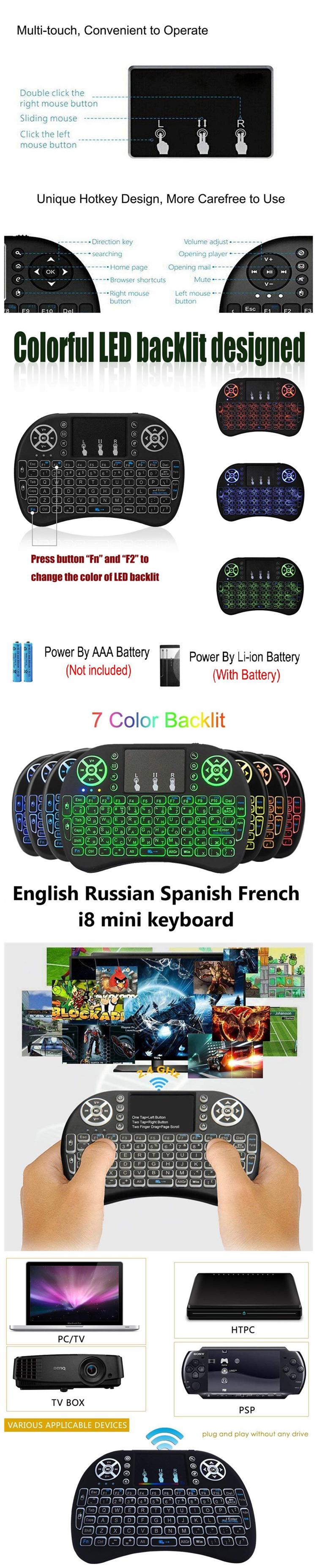 I8 110G Nirkabel Cleaner Debu A1534 Pengganti Mouse Headset Musik Piano Keyboard