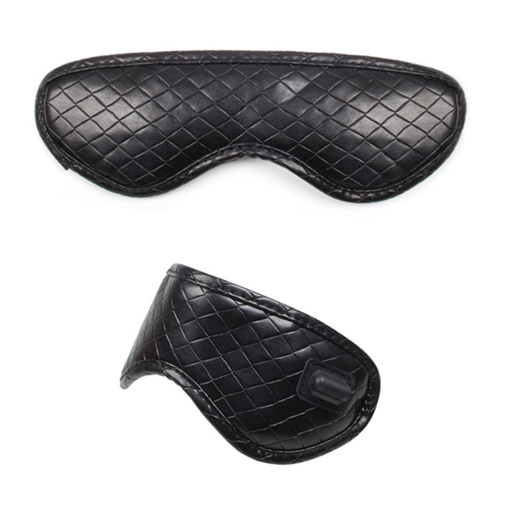Private label wholesale electric massage usb heated eye mask