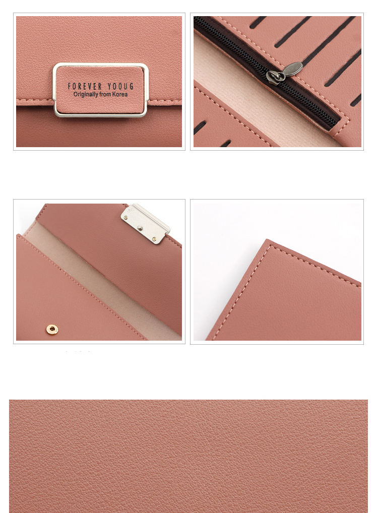 2020 wholesale cheapest women wallet and pu leather wallet