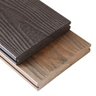 Laminate Flooring Rubber High Strength Solid Decking Plastic Wood Board Terrace Floor