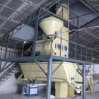 Dry Mortar Plant Dry Mortar Mixing Plant Price 6-8 Tph Semi Automatic Dry Mix Mortar Plant Powder Coating Production Line
