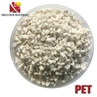 Customized modified plastic pellets high strength PET with 10%-30% glass fiber reinforced raw material granule