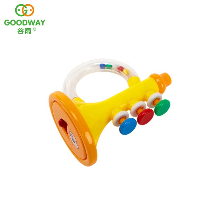 funny cute shaking hand bells set infant toy teething rattles for baby