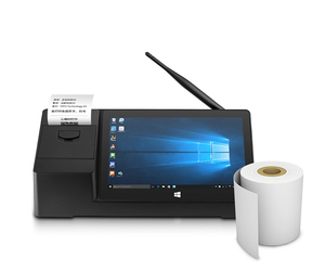 PIPO X3 X5-Z8350 2.4Ghz WIFI 8.9 inch Win 10 Android 5.1 2GB RAM 32GB ROM MINI PC Win10 With thermal printer tablet