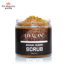 OEM Personalizzato Private Label Natural Organic Vegan Esfoliante Zucchero di canna Scrub Corpo