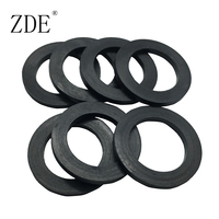 Round Seal Flat Rubber Gasket For Flange