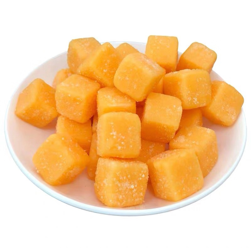 Best selling delicious square mango jelly gummy candy