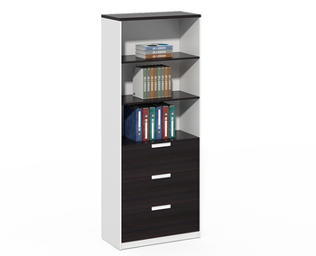 Office Furniture Manufacture Industrial wooden lateral filing cabinet with printer stand