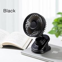 Cafele Mini Desktop Fan USB Rechargeable Summer Air Cooling Portable Clip style Desk Fan Small Mute Office Home Travel Car Fan(Китай)