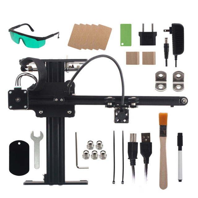 NEJE 20W Blue Laser Module Head Gravure sur métal pour MASTER Gravure Machine