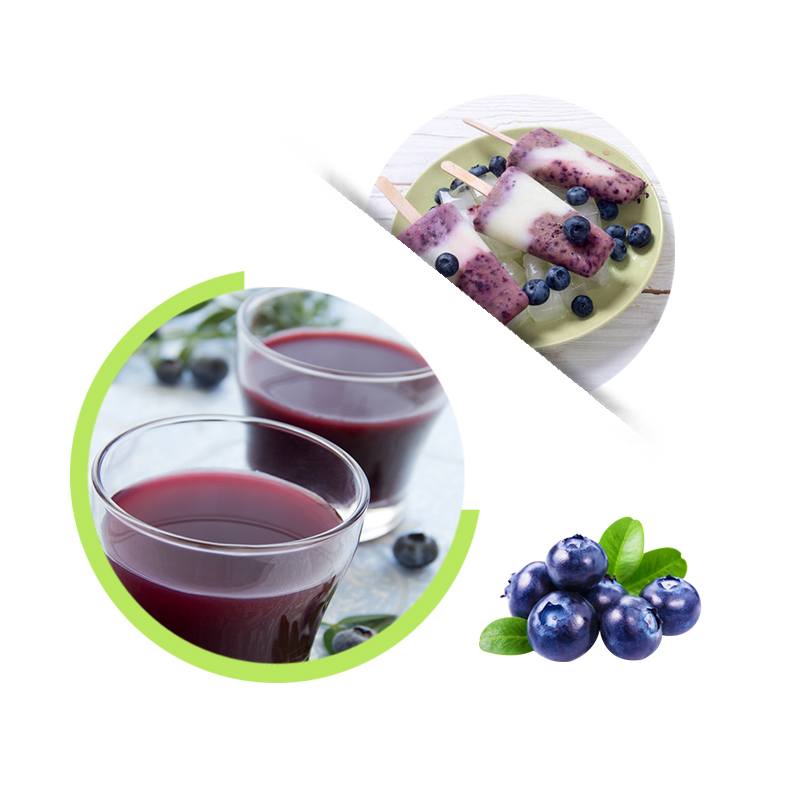 Cultivated Blueberry Juice Concentrate 65brix Fresh Blueberry