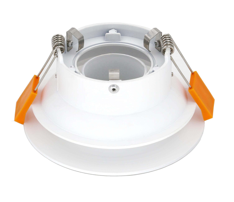 Recessed COB Ceiling Down Light spotlight Housing Gu10 G5.3 mr16 fixture compatible