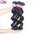 Virgin Cuticle Aligned black blonde pink Straight body wave deep wave water wave Brazilian Human Hair Bundles With Lace Closure