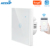 ANPU Eu/Uk/Us 1/2/3 Gang Tuya Touch Light Smart Switch Wifi Wall Switch With Alexa Google with CE ROHS