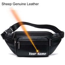 Мужская поясная сумка MVA, поясная сумка из натуральной овечьей кожи, поясная сумка для мужчин/wo, поясная сумка для мужчин, поясная сумка, пояс...(Китай)