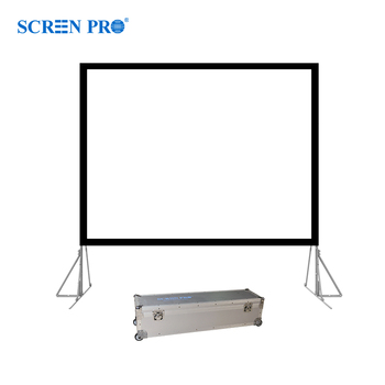 "100"" Projector Screen indoor Outdoor Indoor Movie Screen"