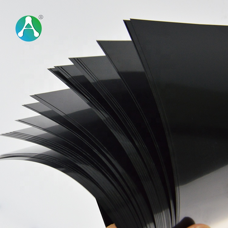 Plastic color black manufacturer hard luggage pvc <strong>abs</strong> sheet cold resistance sheets textured for thermoform
