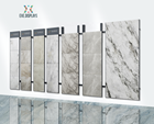 Trade show fair wall mount adjustable metal display stand marble tiles sample display racks