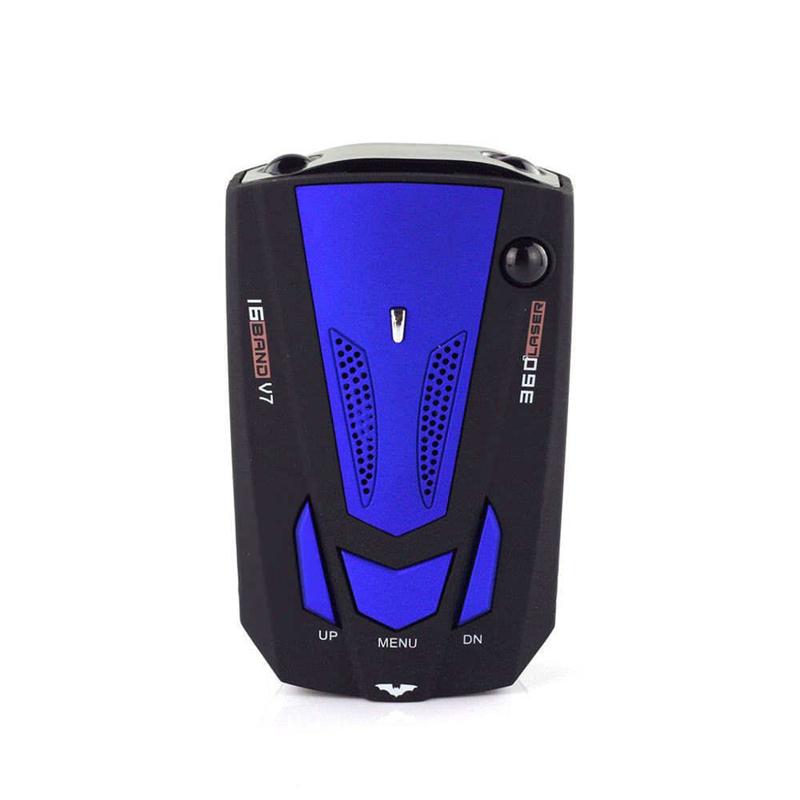 Detektor Radar Mobil V7 Cobra 16 Band 2020, Detektor Kontrol Kecepatan, Kamera GPS Anti Polisi 360