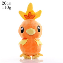 Плюшевые игрушки Pikachu Evee Snorlax Squirtle Bulbasaur Charmander, милые мягкие игрушки для детей(Китай)