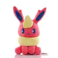 20 см Покемон Иви и Пикачу плюшевые игрушки кукла Сильвер умбреон эспеон Jolteon vaporion Flareon Glaceon Мягкая кукла детские игрушки подарок(Китай)