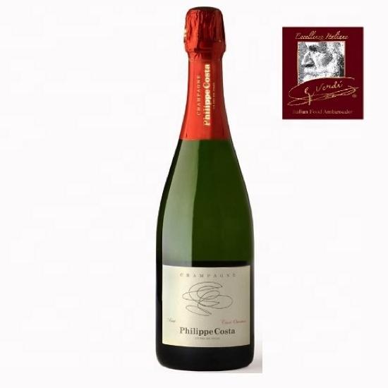 2 capsule de champagne Philippe Costa