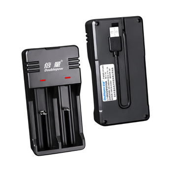 3.7V Li-ion 18650 Battery Charger 26650 21700 14500 Cell with USB Charging Plug