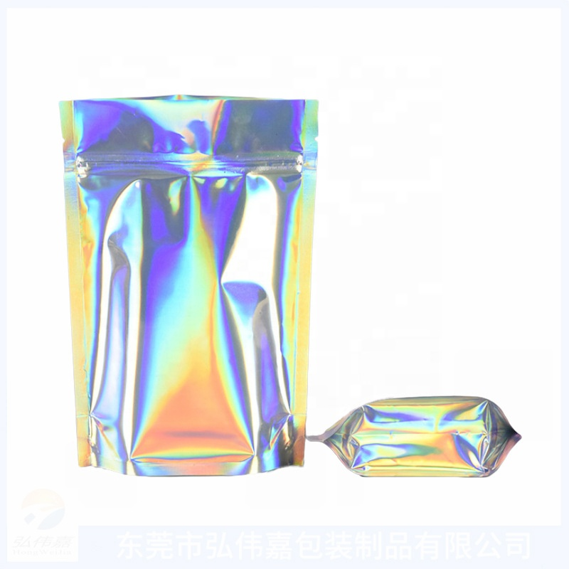 Custom Logo Plastic Foil Heat Seal Aluminum Packaging Mylar Smell Bag Moisture Hologram Jungle Boy Medical Package