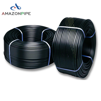 DN25mm pn16 hdpe plastic coiled pipe price