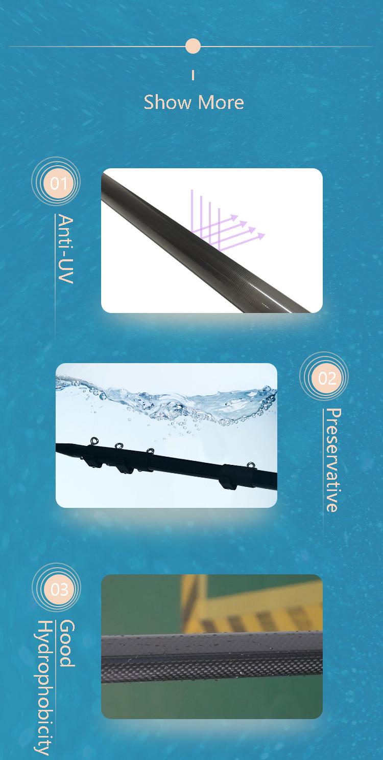 Труба из углеродистого волокна 3k саржевого высокий стандарт карбоновое волокно оптом лодка опоры телескопической рыболовной удочки