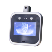 UNIQSCAN UT690 Facial Recognition Access control Fast Tempe Detection Measuring temp sensor scanner security equipment