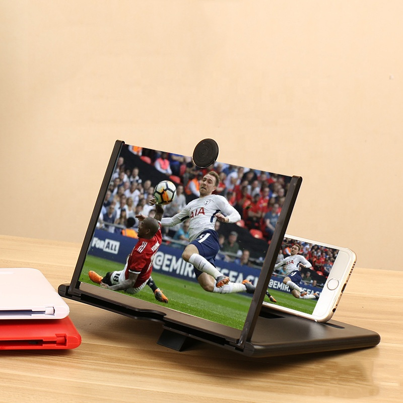 10 inch 3d hd video smartphone mobile phone screen magnifier amplifier Enlarge 4times