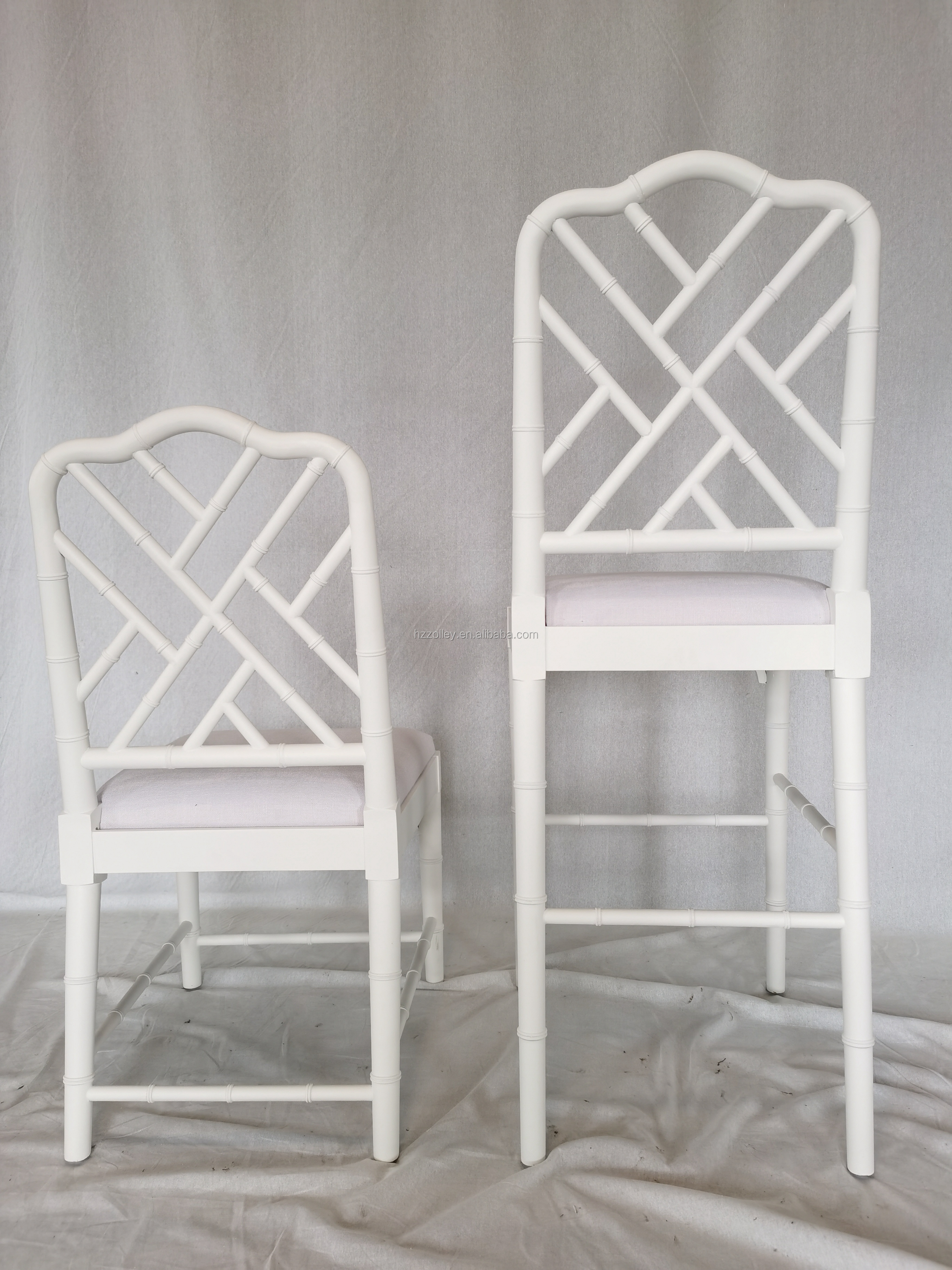 Bamboo shape event use dining chair
