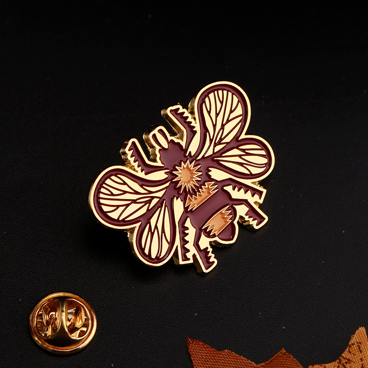New design decorative cheap custom hard soft enamel pins for wholesale